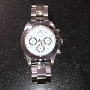INVICTA Men's Stainless Steel Watch. Authentic.